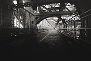Vivienne Gucwa Framed Prints - Williamsburg Bridge - New York City Framed Print by Vivienne Gucwa