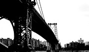 Williamsburg Prints - Williamsburg Bridge NYC Print by Art Kardashian