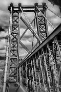 Williamsburg Prints - Williamsburg Bridge Print by Scott  Wyatt