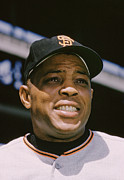 Willie Mays Close-up Print by Retro Images Archive