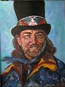 Willie Nelson Painting Originals - Willie Nelson by Marianne Edwards