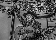 Farm Aid Prints - Willie Nelson Print by Ray Congrove