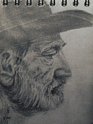 Willie Drawings - Willie by Rick Fitzsimons