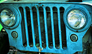 Jeep Prints - Willys Eyes Print by Cheryl Young