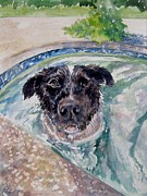 Gloria Turner - Wilma in the Pool