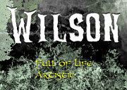 Torn Painting Framed Prints - Wilson - Full of life Artistic Framed Print by Christopher Gaston