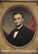 Abraham Lincoln Pictures Prints - Wilson, Matthew Henry 1814-1892 Print by Everett
