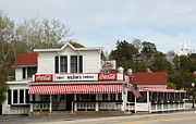 Door County Landmark Framed Prints - Wilsons Old Fashioned Ice Cream Parlor Framed Print by Keith Bell