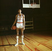 Wilt Chamberlain Stands Tall Print by Retro Images Archive