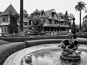Clapboard House Prints - Winchester House - San Jose California Print by Daniel Hagerman