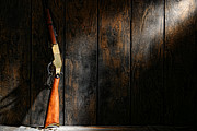 Rifle Photo Posters - Winchester Poster by Olivier Le Queinec