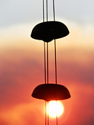 Chimes Photos - Wind Chimes in the Breeze by Robert Ball