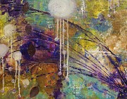 Jane Chesnut Prints - Wind Chimes Print by Jane Chesnut
