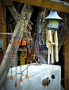 Chimes Photos - Wind Chimes by Lori Seaman