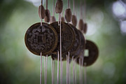 Wind Chimes Framed Prints - Wind Chimes Framed Print by PhotogNinja Noel Adams