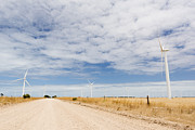 Tim Hester Metal Prints - Wind Farm Metal Print by Tim Hester