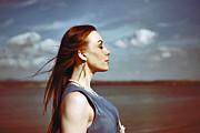 Wind In Her Hair Print by Craig Brown