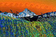 Rocky Mountains Digital Art - Wind over the Rockies by David Lee Thompson