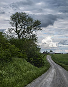 Gravel Road Photos - Wind Road by Keith Sloter