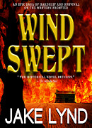 Book Jacket Design Art - Wind Swept Book Cover by Mike Nellums