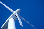 Western Australia Prints - Wind Turbine Tungsten Print by Colin and Linda McKie