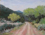 Tire Pastels - Winding Road by Julie Mayser