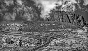 Clouds Of Fire Prints - Winding Road Print by Susan Candelario