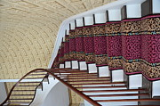 Struckle Framed Prints - Winding Staircase Framed Print by Kathleen Struckle