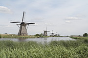 Natuur Photos - Windmill Kinderdijk by Ronald Jansen