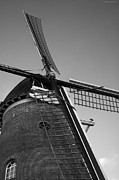 Wohnung Framed Prints - Windmill Framed Print by Miguel Winterpacht