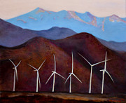 Jennifer Richards - Windmills in the desert