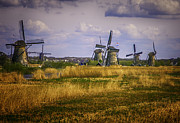 James Bethanis - Windmills of Holland in...