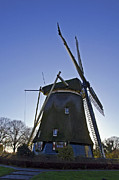 Amsterdam Digital Art - Windmills of Holland by Pravine Chester