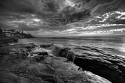 Clouds Art - WindNSea Falls by Peter Tellone