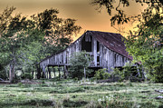 Lisa Moore - Windom Barn at Sunset