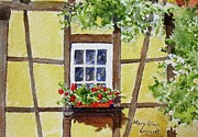Mary Ellen  Mueller-Legault - Window  Alsace