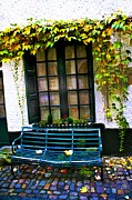 Window Bench Photos - Window Bench by Roberta Bragan