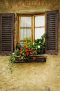 Wall Photo Originals - Window in Florence by Jim  Calarese