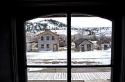 Bannack State Park Framed Prints - Window of History -2 Framed Print by Fran Riley