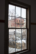 Bannack State Park Montana Framed Prints - Window of History  Framed Print by Fran Riley