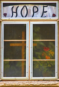 Home Walls Art Prints - Window of Hope Print by James Bo Insogna
