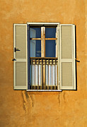 Lead Framed Prints - Window of Rome II Framed Print by David Letts