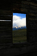 Cabin Window Posters - Window of the World Poster by Pam Randolph