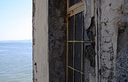 Alcatraz Art - Window on Alcatraz by Ty Helbach