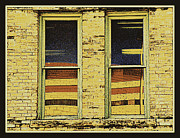 Framed Humorous Architectural Print Prints - Window Sediment Print by Joe JAKE Pratt