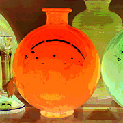 Orange - Window Shopping For Glass by Ben and Raisa Gertsberg