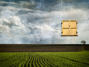 Rural Scenes Digital Art - Window to Farmland by Wim Lanclus