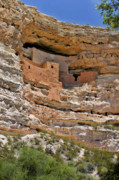 Cliff Posters - Window to the past - Montezuma Castle Poster by Christine Till