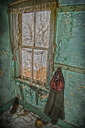 Old House Photos - Window Watcher  by Jerry Cordeiro