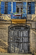 Jaffa Photos - Windows Above the Door by Ken Smith